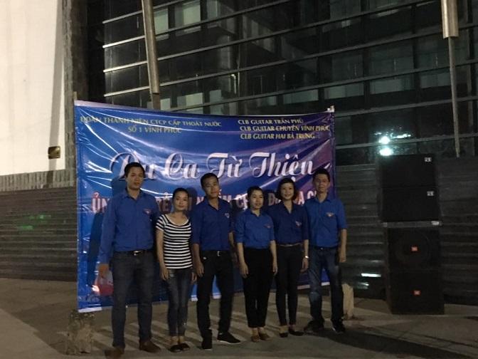 Đoàn thanh niên công ty tổ chức du ca từ thiện