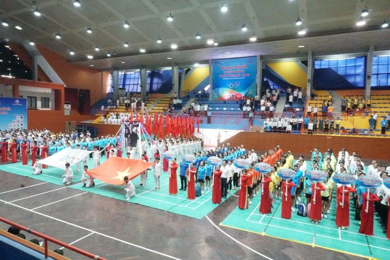 Công ty CP cấp thoát nước số 1 Vĩnh Phúc tham dự vòng chung kết  hội thao, hội diễn chi hội cấp nước lần thứ IX năm 2019