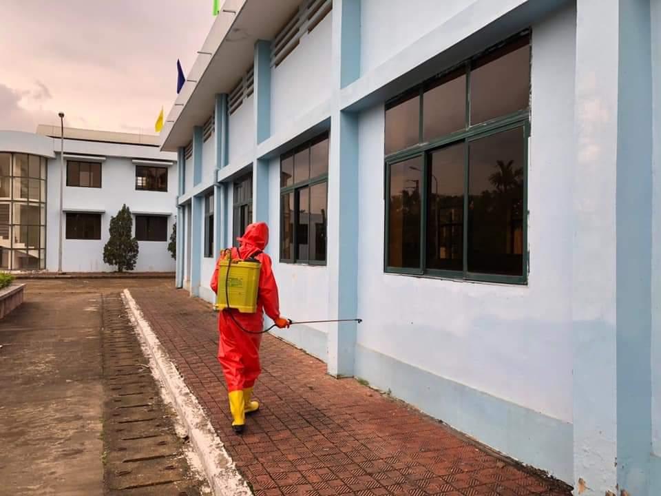 Công ty cổ phần cấp thoát nước số 1 Vĩnh Phúc nghiêm túc thực hiện công tác phòng chống dịch viêm đường hô hấp cấp Covid-19; Bảo đảm an toàn an ninh nguồn nước phục vụ nhân dân trên địa bàn tỉnh.