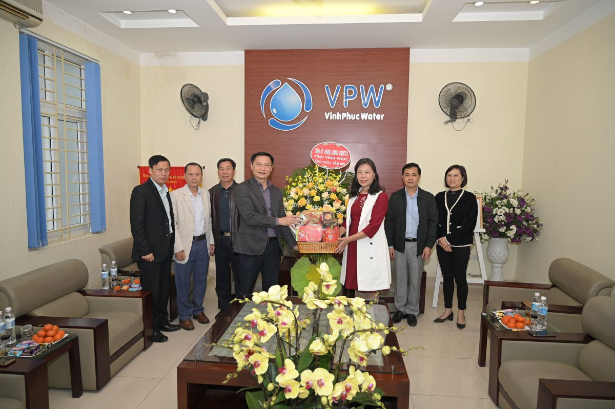 Đoàn công tác của tỉnh thăm và chúc Tết Công ty  nhân dịp đón Xuân Tân Sửu 2021